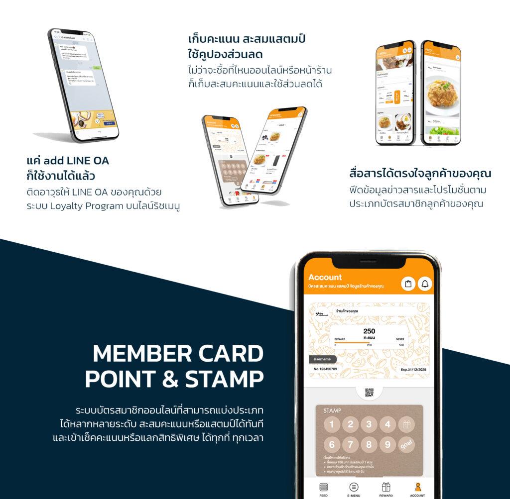 เครื่องคิดเงิน ปริ้นเตอร์ crm ร้านอาหาร พิมพ์ใบเสร็จ กระดาษความร้อน แคชเชียร์ digital payment จ่ายเงินลดสัมผัส ไร้เงินสด สังคมไร้เงินสด ระบบสมาชิกออนไลน์ สะสมแต้ม คะแนน